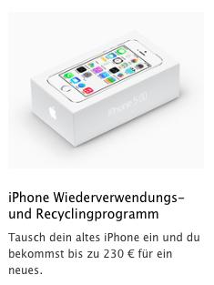 iPhone inruilprogramma