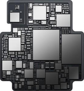 Apple Watch S1 inside