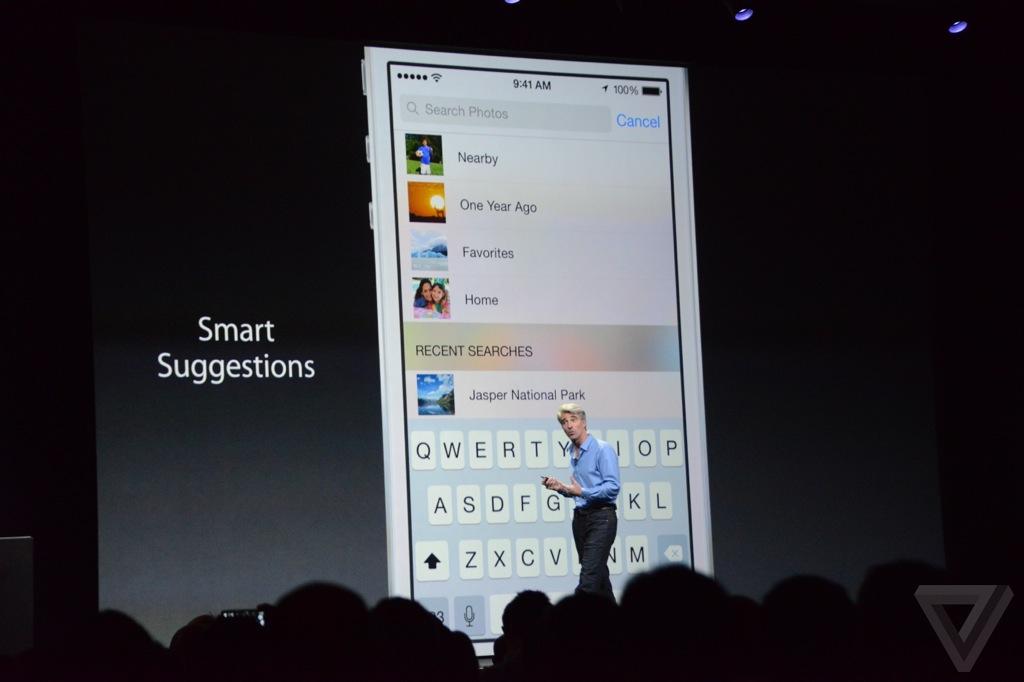Slimme suggesties voor het zoeken in de App Store