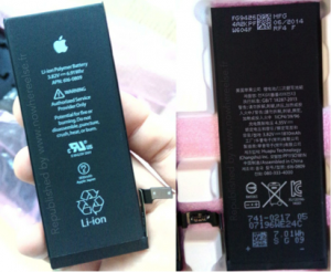 De nieuwe iPhone 6 accu