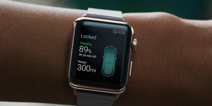 Apple Watch auto sleutel