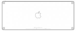 Apple FCC Wireless Keyboard 2015