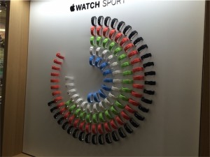 Apple Watch in Galeries Lafayette (Parijs)