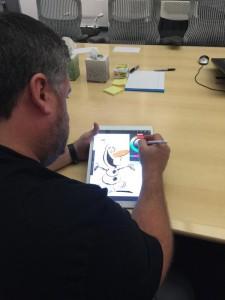Disney iPad Olaf