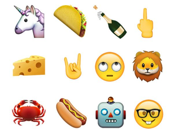 New emoji iOS 9.1