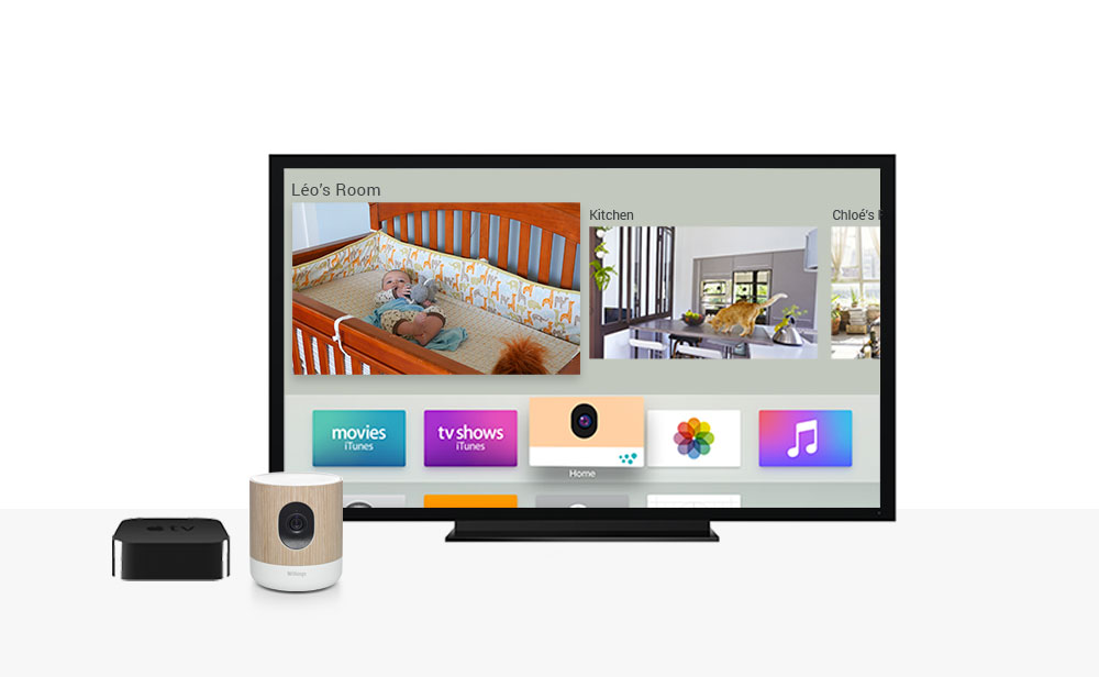 Withings Home apple TV 4
