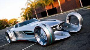Een Mercedes conceptauto