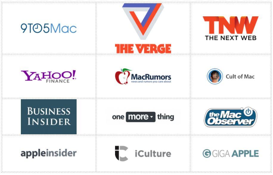 Apple Nieuws Vlaanderen in de nationale en internationale media