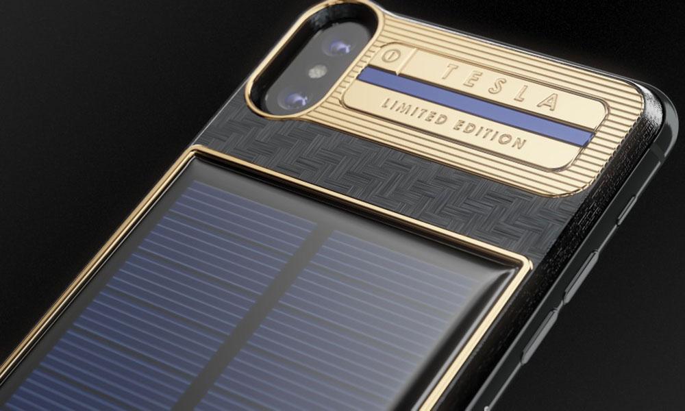 iPhone X Tesla (Foto: Caviar)